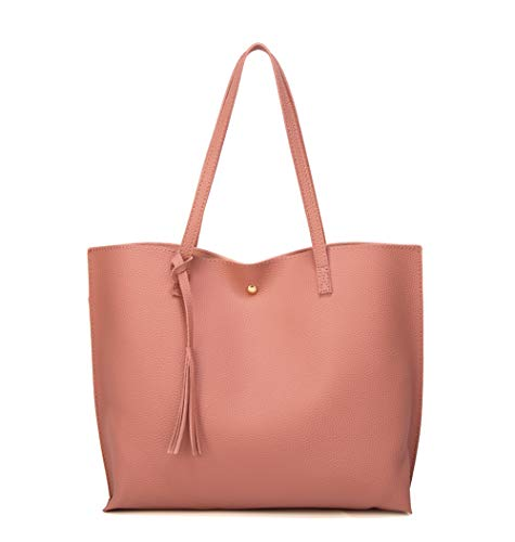 Women's Soft Faux Leather Tote S...