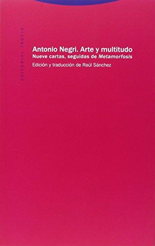 Descargar Libro Arte Y Multitudo Antonio Negri