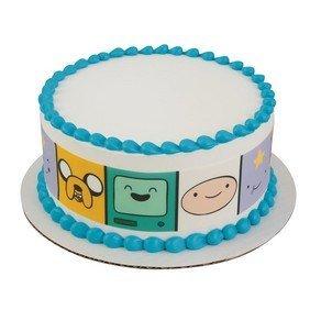 amazon com adventure time strips licensed edible cake topper 58200