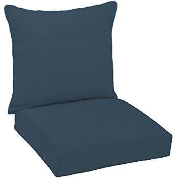 Merveilleux FiberBuilt Umbrellas D0301SB 48080 Hinged Deep Seating Chair Cushion Patio  And Lawn Furniture With Sunbrella