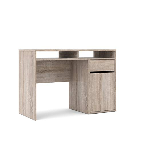 Tvilum 70488cjcj Willis Drawer, 1 Door Desk, Truffle