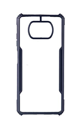 Videotronix Mobile Back case Cover for Redmi Poco X3 || Ipaky PC+TPU Ultra Thin Transparent Hybrid Hard Back Cover for… 2021 July Only Compatible With-Redmi Poco X3. Kindly check your settings before placing the order to avoid misfit and return Compact And Stylish- The Ultra Thin case comes with Silicone Bumper and Ultra Clear Transparent Hard Back. The Silicone Bumper Provides complete Shock Absorption for your Smart Phone. PREMIUM PRECISE CUTTING DESIGN : The Grip Case has precise cutting for each camera, ports, charging point for enhance quality and life.