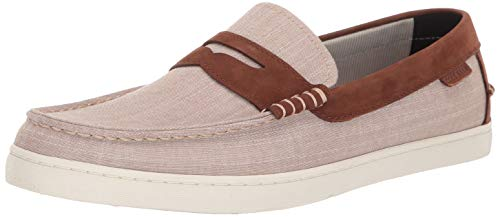 Flat Men Casual Shoes - Cole Haan Men's Nantucket Loafer, Brown, 8.5 M US