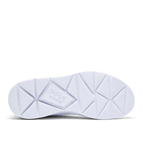 Supra Noiz, Unisex Adults' Low-Top Sneakers white