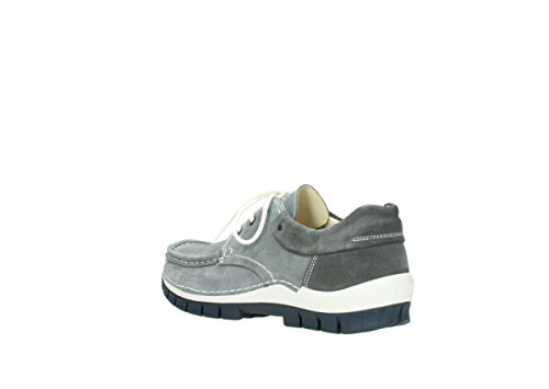 Grey Leather Womens Jewel 3204 Nubuck Sandals Wolky 10200 nPqxSvwZ