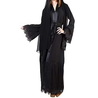 Arabeska Black Formal Abaya For Women