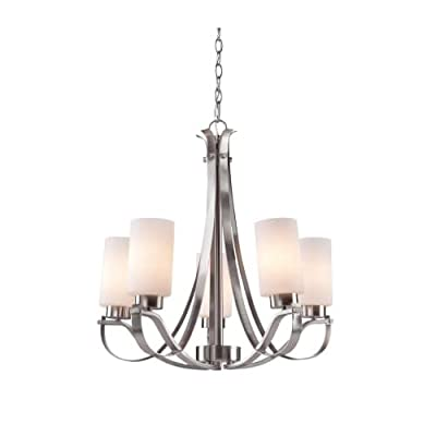 Artcraft Lighting AC1595OB Russell Hill Five-Light Chandelier, Oil Rubbed Bronze