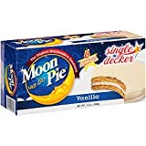 Moon Pie Single Decker Vanilla Marshmallow Pies, 6 count, 12 oz