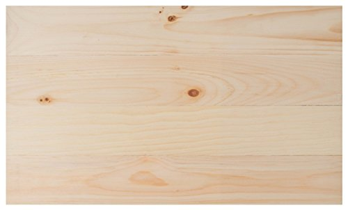 Natural Wood Finish 14 x 24 Inch Pine Wood Craft Pallet -