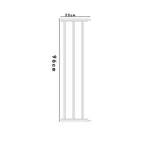 House of Quirk Safety Gate Extension 3 Bar Baby Door Guard (20 cm)