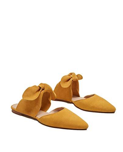 Leather Shoes 33080811 Women's MANGO Cow wEqOHWAX