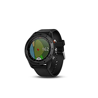 Garmin Approach S60 GPS Golf Watch with Black Band
