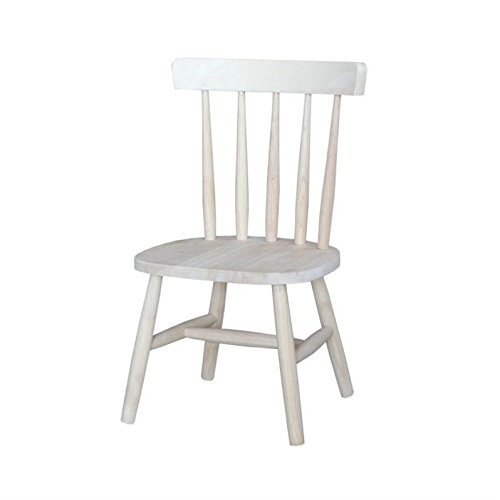 International Concepts Unfinished Tot's Chair (Set of 2) by International Concepts