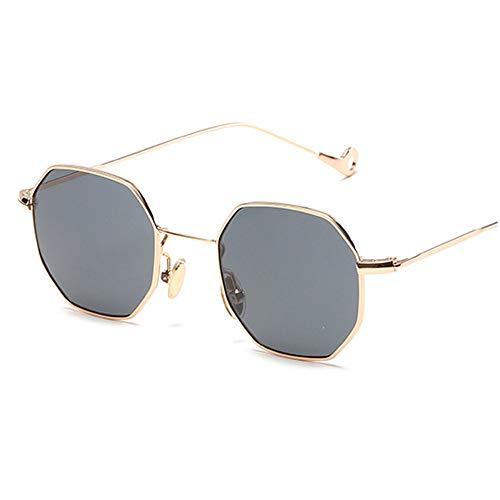 2c67f81c7a WELUK 2017 New Octagon Sunglasses Ladies Summer Polygon Square Sun Glasses  Metal Frame Women Men Plain Glasses