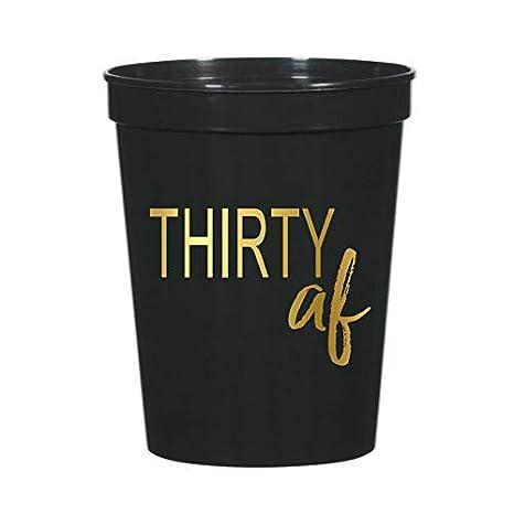 Amazon.com: 30 Treinta tazas AF para una fiesta de 30 ...
