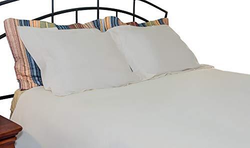 - Whisper Organics Duvet Cover, Organic 100% Cotton Duvet Cover, 300 Thread Count (Full/Queen, Silver)