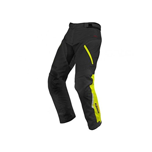 Alpinestars Andes Drystar Pants - Large/Black/Yellow Fluorescent by Alpinestars