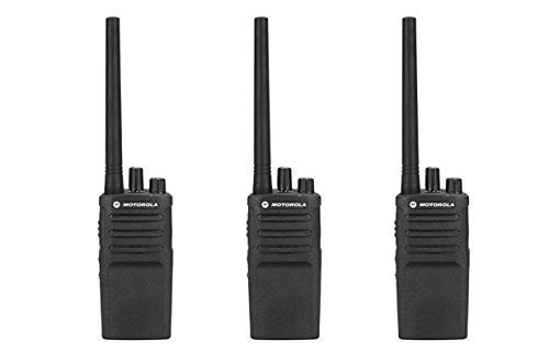 3 Pack of Motorola RMV2080 Business Two-Way Radio 2 Watts/8 Channels Military Spec by Motorola