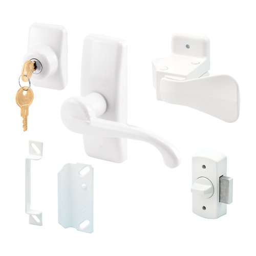 Prime-Line Products 5163 Georgian Lever Latch, White ()