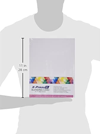 White 125 Per Pack Copic Marker 8-1//2-Inch by 11-Inch Express Blending Card