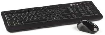 NGS Arcade Kit - Pack de Teclado y ratón inalámbricos de 2.4 GHz: Amazon.es: Informática