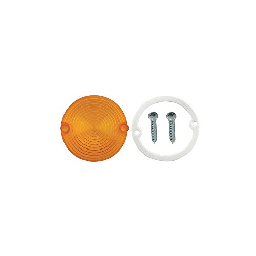 MACs Auto Parts 44-38066 - Mustang Right or Left Side Amber Parking Light ()