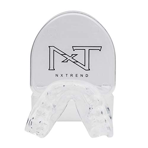 Mouth Guard for Grinding Teeth – Professional Night Guards for Teeth Grinding, Mouth Guard Sports, Dental Sleep Guard Stops TMJ, Bruxism, Teeth Clenching, Anti-Bacterial Case & Earplugs Included by NXTRND USA (Image #7)