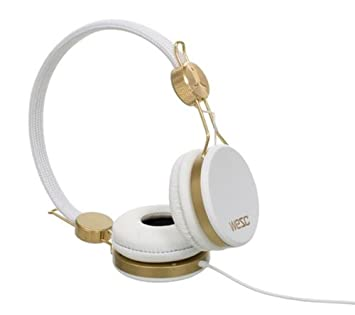 WESC Cascos Banjo - blanco dorado