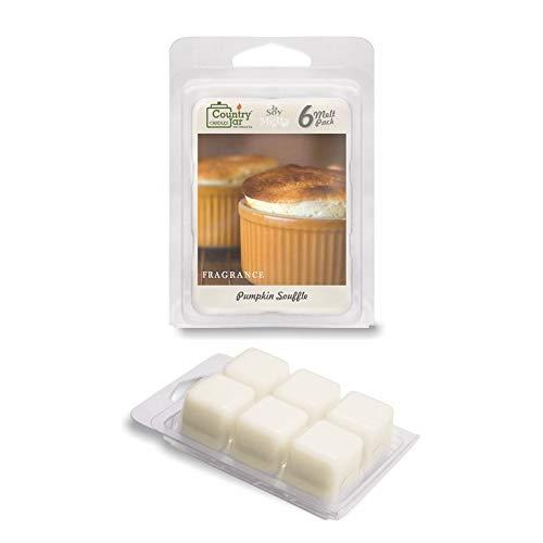 Pumpkin Souffle - Country Jar Pumpkin Souffle Soy Wax Melts/Tarts (2.75 oz. 6-Cube Pack) Spring Pick-3 Sale! See Details.