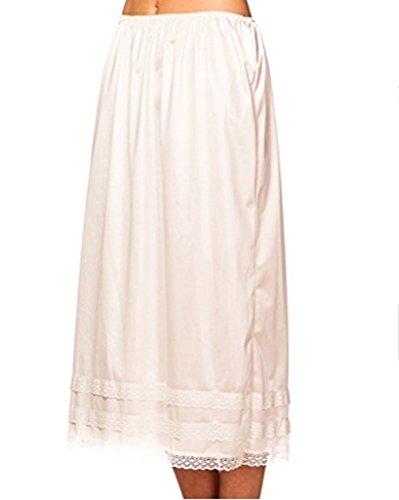 Momtuesdays2 Women's Lingerie Anti-Static Half Slip Snip Skirt (L, (Large Slip)