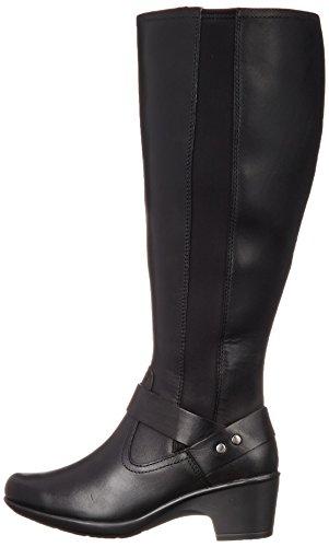 Clarks A Cavallo Onde Malia Leather Avvio Black Di qw6qF1vH