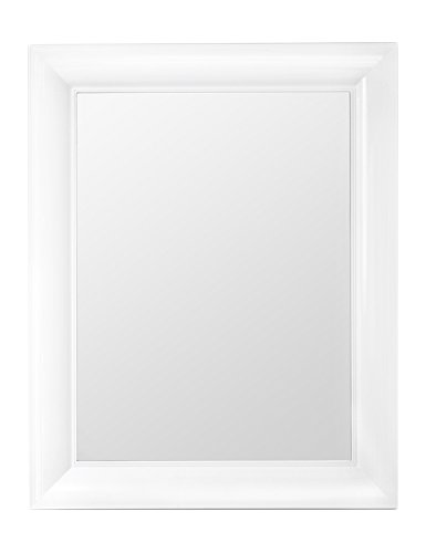 Kartell 8300/E5 Francois Ghost Mirror by Phillippe Stack, Pack of 1, Matte White