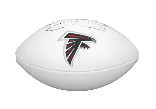 NFL Team Logo Autograph Football Atlanta Falcons