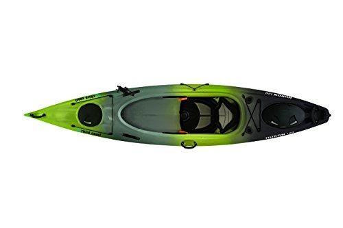 Third Coast Huron 120 Sit In Angler Kayak (Citron/Black/Gray)