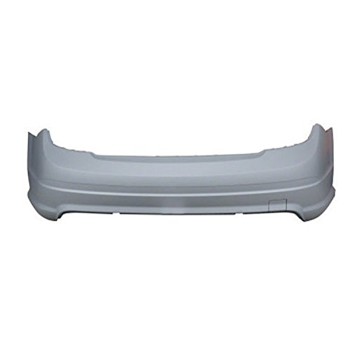 CPP MB1100276 Direct Fit Primed Plastic Bumper Cover for Mercedes-Benz C-Class
