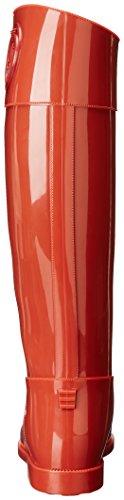 Mujer Botas Armani Jeans Rojo Wellington UKUEZOrq