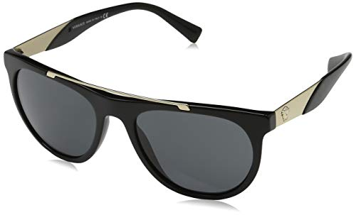 Versace Men's VE4347 Sunglasses - Acetate Sunglasses 87