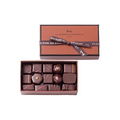 La Maison Assorted Chocolate COFFRET MAISON DARK 29 PIECES by La Maison Assorted Chocolate