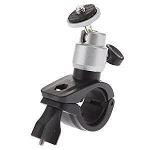 DK Motorcycle and Bicycle 1/4 Inch Screw Head Rotatable Mount Stander£¨Delivery color£©(Silver)