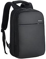 مينايلي حقيبة ظهر للكمبيوتر المحمول - 15.6 منفذ USB مقاوم للماء اسود 1802