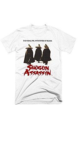 Samurai T-shirt Bushido Civilize The Mind Savage The Body Quote (Small) ()