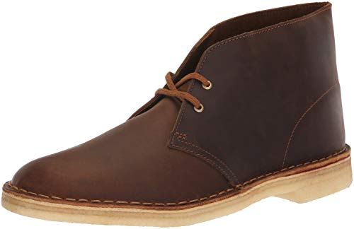 CLARKS Men's Desert Chukka Boot, Beeswax, 090 M US