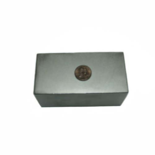 Super Strong Neodymium Magnet N48 4 x 2 x 2'' Permanent Magnet Bar, The World's Strongest & Most Powerful Rare Earth Magnets by Applied Magnets by Applied Magnets (Image #1)