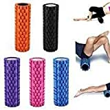 Tahera Yoga Foam Roller for deep Tissue Massage, Gym Exercise, Fitness, Trigger Point Therapy, Back Muscles and Body Work Out.