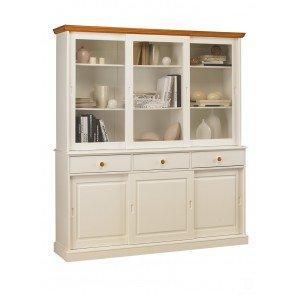 Schöne Möbel nicht zu erinnern, Bücherregal weiß und Honig-Highboard 6 trg Schiebetürenschrank