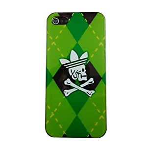 SOL Cool Skull Pattern PC Back Case for iPhone 5