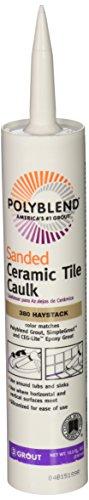 Custom BLDG Products PC38010S-6 10.5-Ounce Haystack Tile Caulk
