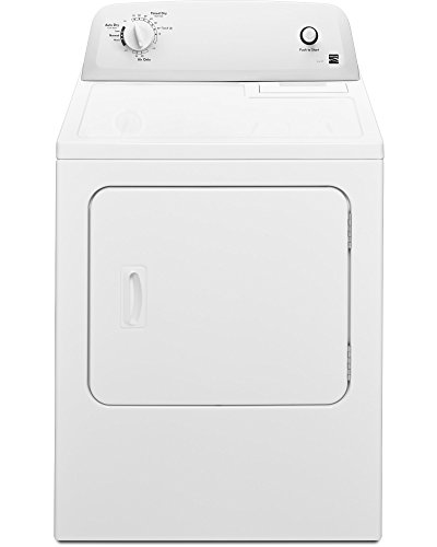 Kenmore 6012 Electric Dryer in White, includes delivery and hookup (Available in select cities only)