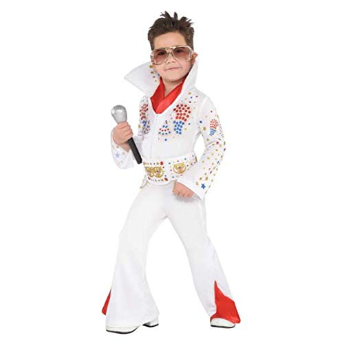 Boys King of Rock 'n' Roll Costume - Large (12-14) | 2 -