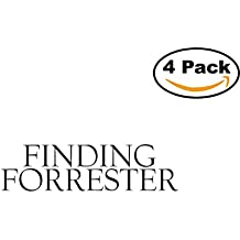 Movie Finding Forrester Logo 4 Stickers 4X4 Inches Car Bumper Window Sticker Decal
